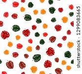 dark multicolor vector seamless ... | Shutterstock .eps vector #1299083665