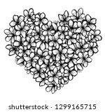 vector illustration  beautiful... | Shutterstock .eps vector #1299165715