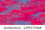 halftone grunge dotted rough... | Shutterstock .eps vector #1299175468