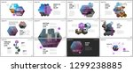 minimal presentations design ...   Shutterstock .eps vector #1299238885