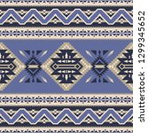 ethnic seamless pattern. native ... | Shutterstock .eps vector #1299345652