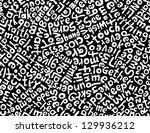 love letters | Shutterstock .eps vector #129936212