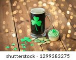 st patricks day  holidays and... | Shutterstock . vector #1299383275