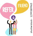 man refer a friend word summer...