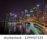 singapore  january 24  2019 ... | Shutterstock . vector #1299437155