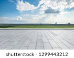 panoramic skyline and modern... | Shutterstock . vector #1299443212