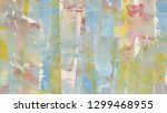 hand drawn colorful abstract...   Shutterstock . vector #1299468955