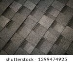 close up photo of soft roofing... | Shutterstock . vector #1299474925