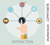 vector illustration of... | Shutterstock .eps vector #1299476878