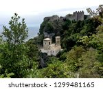 Castle Of Pepoli At The Top Of...