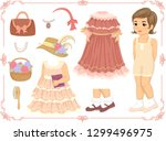 Illustration Of A Kid Girl With ...