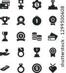 solid black vector icon set  ...   Shutterstock .eps vector #1299500608