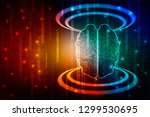 2d illustration concept of... | Shutterstock . vector #1299530695