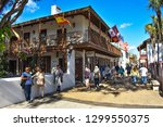st. augustine  florida. january ... | Shutterstock . vector #1299550375