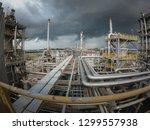 oil and gas refinery industrial ... | Shutterstock . vector #1299557938