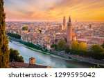 Beautiful Sunset Aerial View Of ...