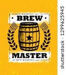 Brew Master. Craft Beer Local...
