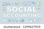 social accounting word concepts ...