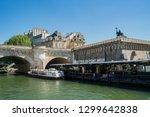 paris  may 7  vedettes du pont...   Shutterstock . vector #1299642838