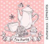 vintage sweets and tea   tea...
