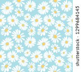 Daisy Flower Vector Pattern...