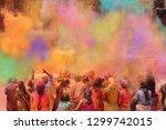 People Celebrating The Holi...