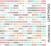 seamless geometric pattern... | Shutterstock .eps vector #1299794302