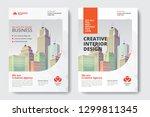 corporate business flyer poster ... | Shutterstock .eps vector #1299811345