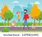 vector illustration of happy...   Shutterstock .eps vector #1299821092
