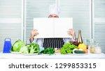 useful book for cooking. start... | Shutterstock . vector #1299853315