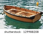 Small Fishing Boat On The Sea...