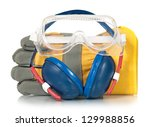 protective accessories for... | Shutterstock . vector #129988856