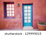 colorful southwestern... | Shutterstock . vector #129995015