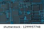 light futuristic concept ...   Shutterstock .eps vector #1299957748