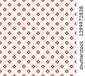 vector minimalist floral... | Shutterstock .eps vector #1299972838