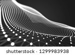 abstract polygonal space low... | Shutterstock . vector #1299983938