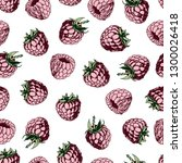 seamless pattern with pink...   Shutterstock .eps vector #1300026418