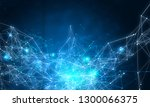 connection technologies... | Shutterstock . vector #1300066375