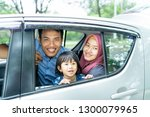 picture of family members... | Shutterstock . vector #1300079965