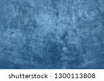 old blue background with grunge ... | Shutterstock . vector #1300113808