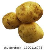potato with full of... | Shutterstock . vector #1300116778