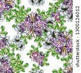 abstract elegance seamless... | Shutterstock . vector #1300126012