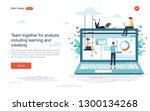 business concept  for banner... | Shutterstock .eps vector #1300134268