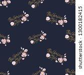 cute ballet seamless pattern... | Shutterstock .eps vector #1300182415