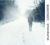 Man Walks Alone