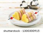 mini sandwiches parmesan cheese ... | Shutterstock . vector #1300300915