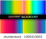 minimal covers design. colorful ... | Shutterstock .eps vector #1300313002