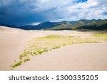 great sand dunes national park... | Shutterstock . vector #1300335205