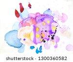 abstract background gentle... | Shutterstock . vector #1300360582