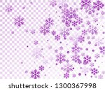 crystal snowflake and circle... | Shutterstock .eps vector #1300367998